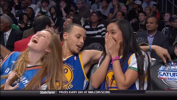 Steph curry you got caught